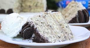 homemade cookies n cream cake