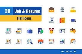 Job & Resume Icons ~ Icons ~ Creative Market