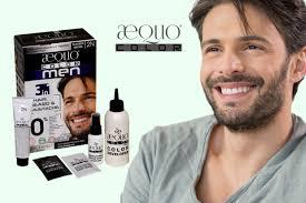 Aequo Color Chart Natural Hair Dye For Mens Beard Hair Coloring