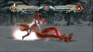 Naruto Generations : Naruto 6 Tails vs Naruto 4 Tails - YouTube