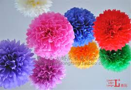 Party Decorations Tissue Paper Balls Best Gifts Tissue Paper Pom Poms Wedding Party Baby Living Room 100