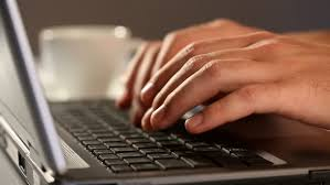 Image result for images of hands typing on a laptop
