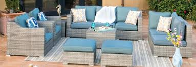 blue patio furniture outdoor furniture blue outdoor cushions uk