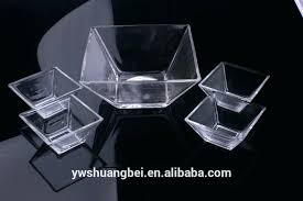 clear glass salad bowl set clear salad bowl large 8 square glass serving with gift bowl clear glass salad bowl set