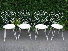 white outdoor furniture. furniture garden chair vintage white outdoor gardening