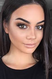 natural makeup ideas for any types of perfect look easy natural makeup with soft black smokey eyes