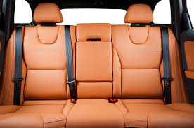 car back seat. Perfect Car Back Seats Of Modern Luxury Car Red Leather Interior Stock Photo By  Gargantiopa Inside Car Back Seat T
