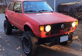 For Sale: 1982 Rabbit on a Jeep 4×4 Chassis with a Chevy V8 ...