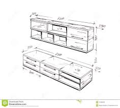 furniture design drawings. royalty-free stock photo. download modern interior design freehand drawing. furniture drawings n