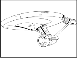 Small Picture Star Trek Enterprise Plane coloring picture for kids Star Trek