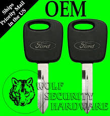 Sell Lot Of 2 Ford Oval Logo Oem Pats Transponder Rfid
