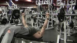 Decline Bench Press Barbell  Chunk FitnessDecline Barbell Bench