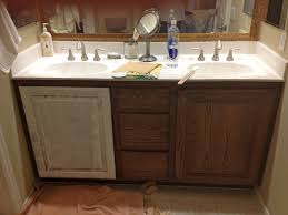 DIY Wooden Bathroom Vanity With Double Sink Vanities House Remodel - Bathroom vanity remodel
