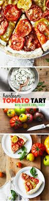 Heirloom Tomato Tart with Gluten Free Crust Natural Girl Modern