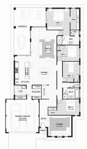 floorplan preview 4 bedroom brooks house design