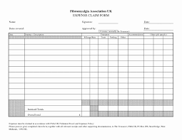 Small Business Expense Report Template Excel New form Business ...