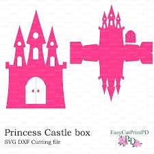 svg dxf png princess frozen castle box template baby girl party svg dxf png princess frozen castle box template 10861090 easycutprintpd