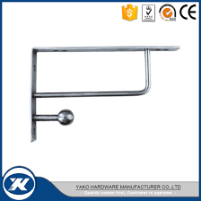 yako shower wall mount glass shelf hardware bracket