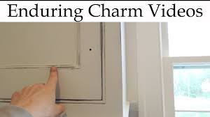 Creating Distressed White Kitchen Cabinets Youtube