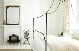 Iron Canopy Bed Impressive On Wrought Iron Canopy Bed With Bedroom ...
