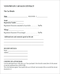 Bill Of Sale Template Word Document Proof Of Car Sale Template
