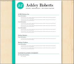 Gallery Of Example Of Resume Template