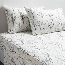 greener flannel sheet set 100 cotton