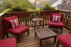 patio furniture small deck. Patio, Patio Furniture Small Space Table And Chairs Wooden Red Chair Flower Deck Footymundo.com