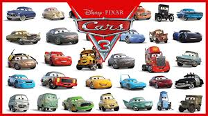 cars movie characters. Plain Movie Disney Pixar Cars 3 All Characters 2017 For Movie YouTube