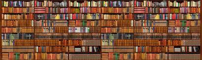 Bookshelf Wallpaper Collection (47+)