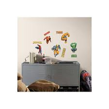 Scs Bedroom Furniture Roommates Marvel Heroes Peel And Stick Wall Decals At Guirys