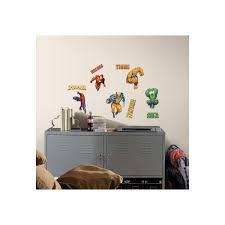 Peel And Stick Wall Decor Roommates Marvel Heroes Peel And Stick Wall Decals At Guirys