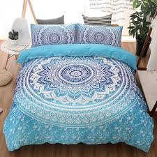 mandala indian duvet cover bohemian nationa home textile bedding set king queen twin geometric sanding bed duvet cover canada 2019 from greenliv