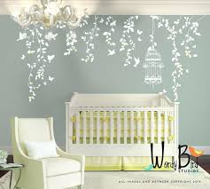 etsy wall decals nursery hanging vines wall decal for baby girl nursery  with flowers hanging vines . etsy wall decals nursery ...