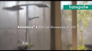 <b>hansgrohe Raindance E</b> 300 Showerpipe - YouTube