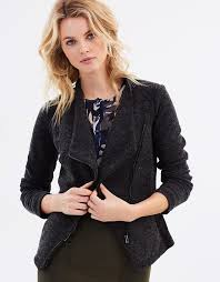 pr107aa50uiv fashionable patterns privilege soft moto style jacket big s clearance womens coats jackets
