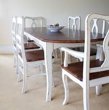 fascinating shabby chic dining room table and chairs denverrose org excellent al007a f