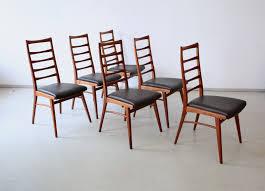 6 Esszimmerstühle Dettinger Teak Stilraumberlin Dänische