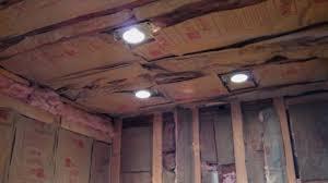 ceiling lights insulation wine