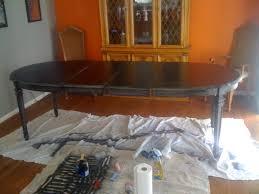 Refinishing A Kitchen Table Refinished Kitchen Table Aromabydesignus
