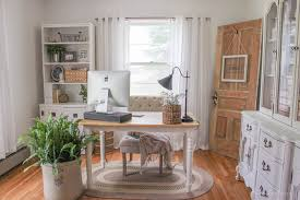 home office makeover. Delighful Office A Mustsee Makeover Check Out The Transformation Of This Gorgeous Home  Office Decorated To Home Office Makeover O