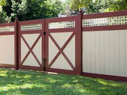 Red White Minimalist Fence Color