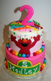 Theretroinc On Etsy Sweet Treats Elmo Birthday Cake Sesame