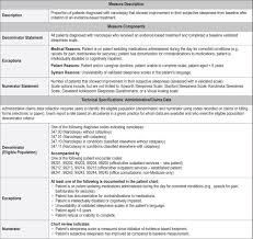 Jcsm Quality Measures For The Care Of Patients With Narcolepsy