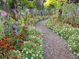 flower garden ideas. Unique Flower A Gallery Of Beautiful And Functional Flower Garden Paths Gardening Ideas Intended G