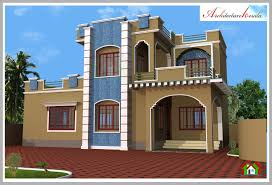 3d elevation and floor plan