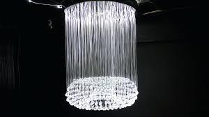chandeliers fiber optic chandelier remote control hotel lobby fiber optic chandeliers for fiber optic