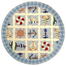 round nautical rugs. Round Nautical Rugs G