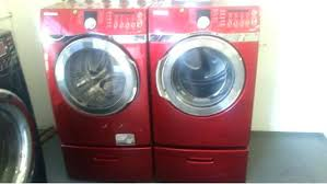 lowes samsung dryer. Samsung Washer And Dryer Lowes Red Reviews Steam Front Load W Gas Set On Pedestals Out