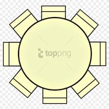 Round Table Seating Chart Free Png Download Round Table Seating Plan Png Images